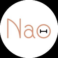 Logo NAO blanc